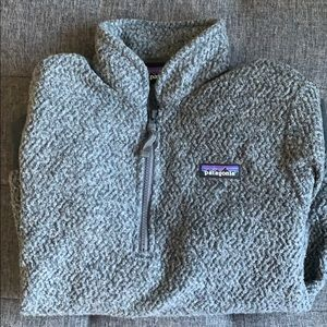 Patagonia grey fleece